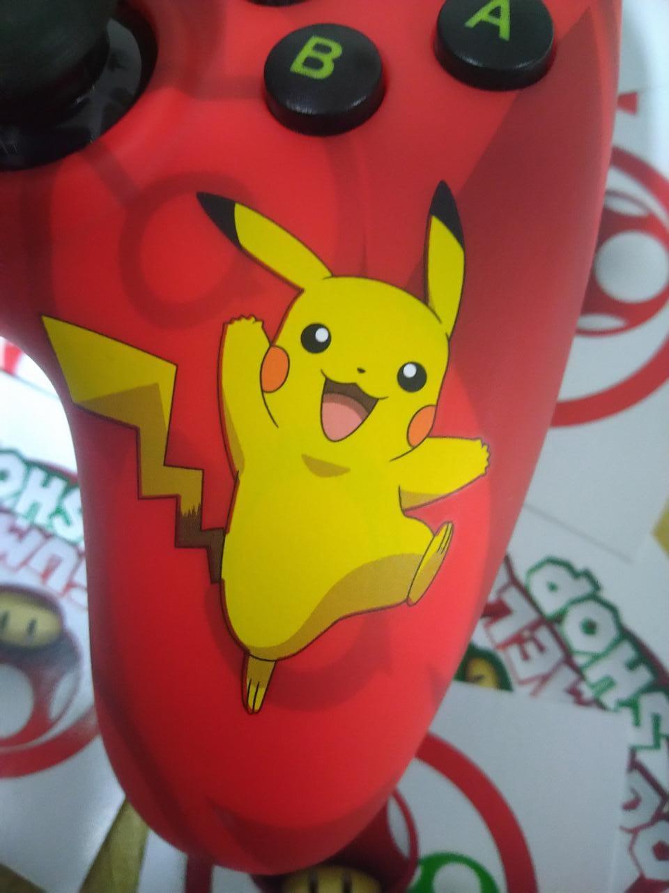 Controle Powera Wired Pikachu - USADO - Nintendo Switch