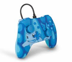 Controle Powera Wired Squirtle Torrent Azul - Nintendo Switch