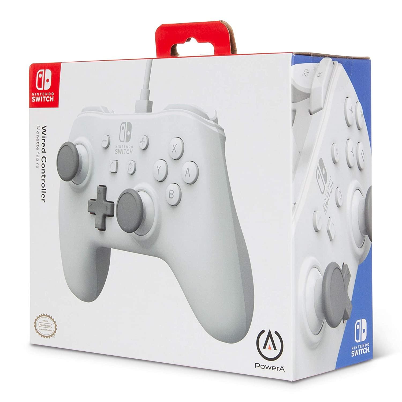 Controle PowerA com fio - White - Nintendo Switch