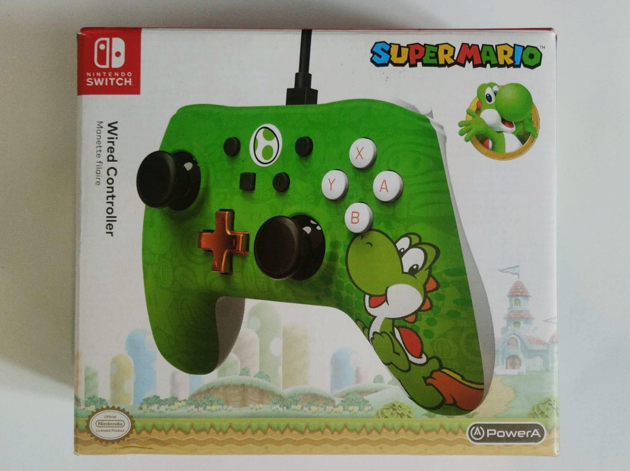 Controle PowerA Wired Yoshi - Nintendo Switch