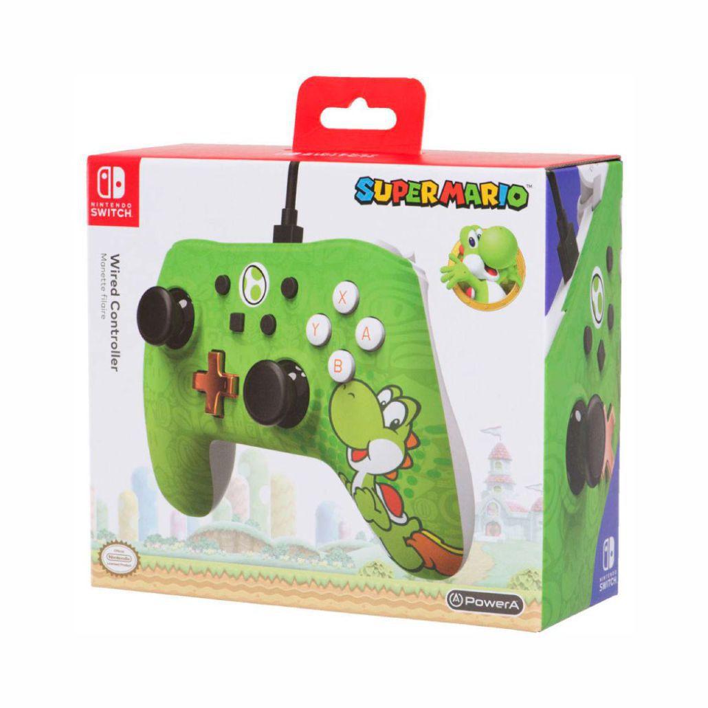 Controle Powera Wired Yoshi Nintendo Switch Novo Original