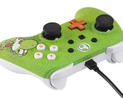 Controle Powera Wired Yoshi Nintendo Switch Novo Original