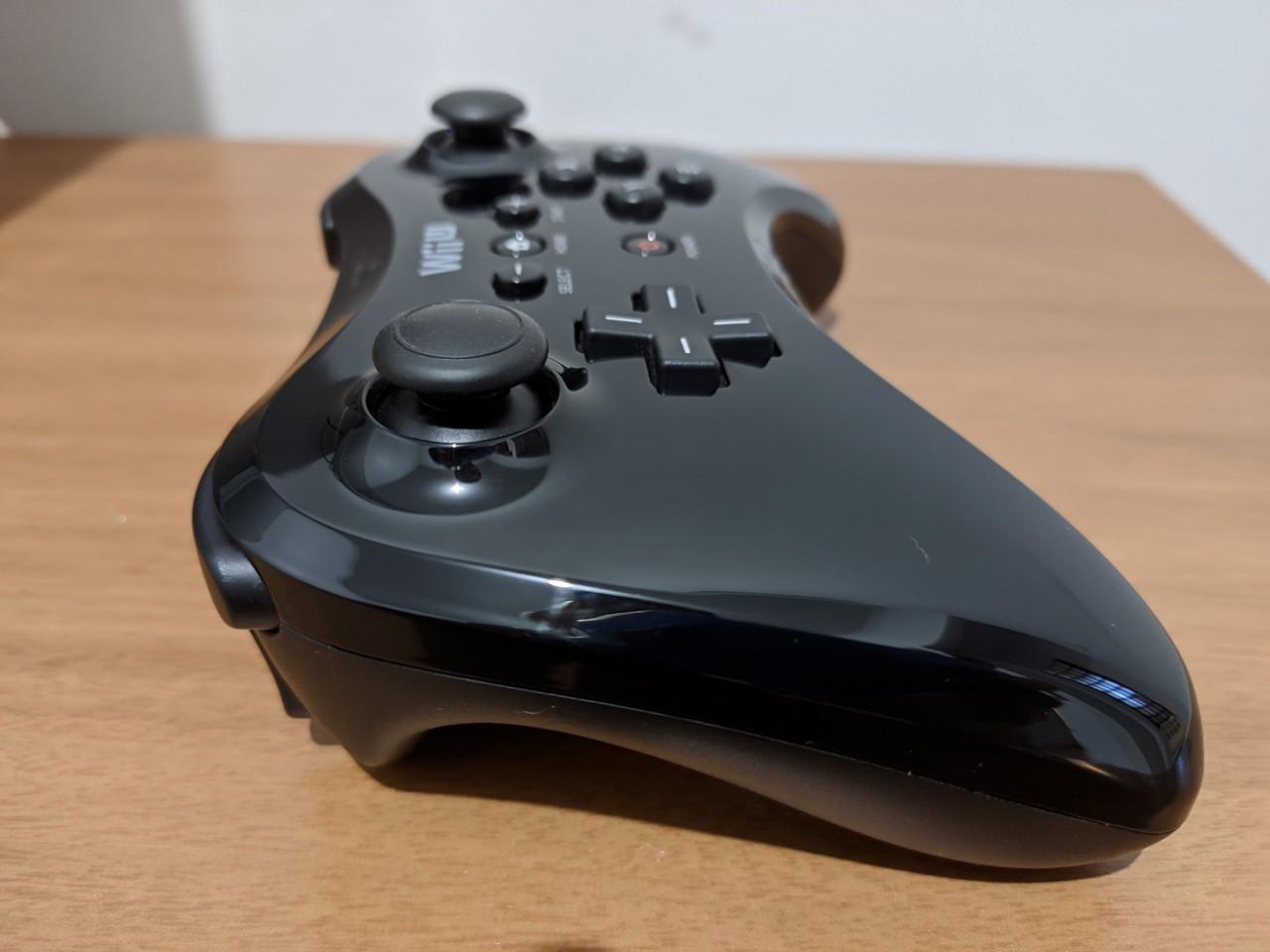 Controle Pro Nintendo Wii U - Preto - Usado