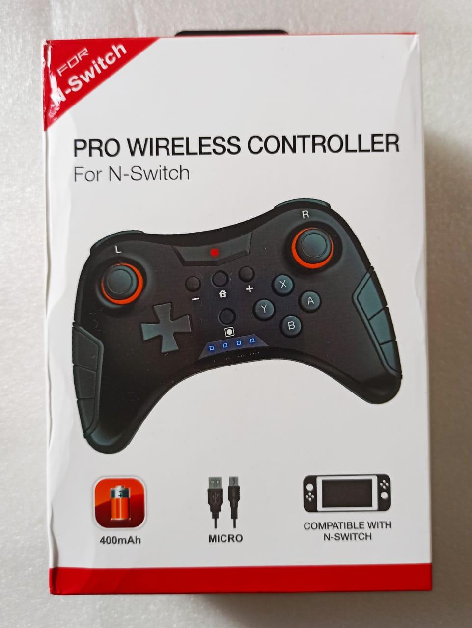 Controle Pro Wireless TNS-1724 - USADO - Nintendo Switch