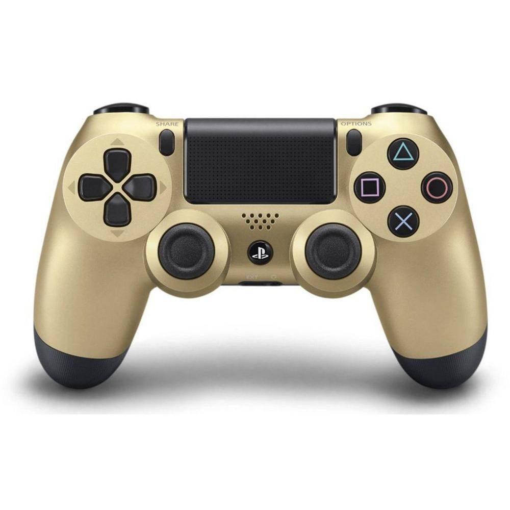 Controle sem Fio - Dualshock 4 Gold Dourado - PS4
