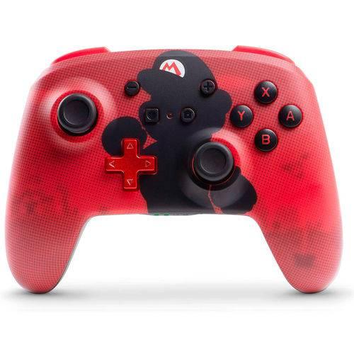 Controle Sem Fio Enhanced Super Mario - Nintendo Switch