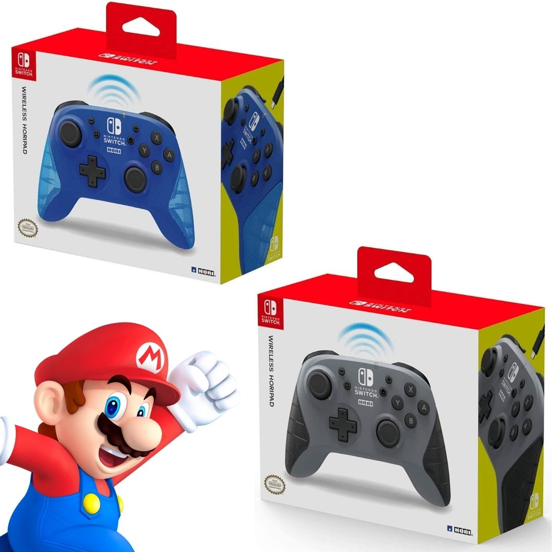 Controle Sem Fio Horipad - Nintendo Switch