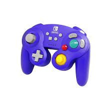 Controle Sem Fio Powera Game Cube Azul -  Nintendo Switch