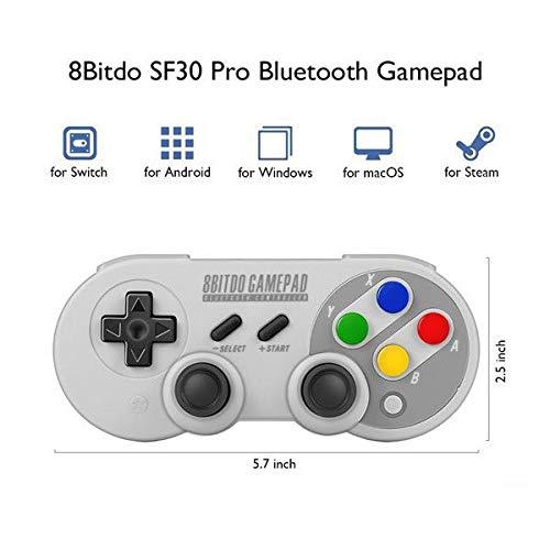 Controle SF30 Pro 8BitDo - Nintendo Switch - PRONTA ENTREGA