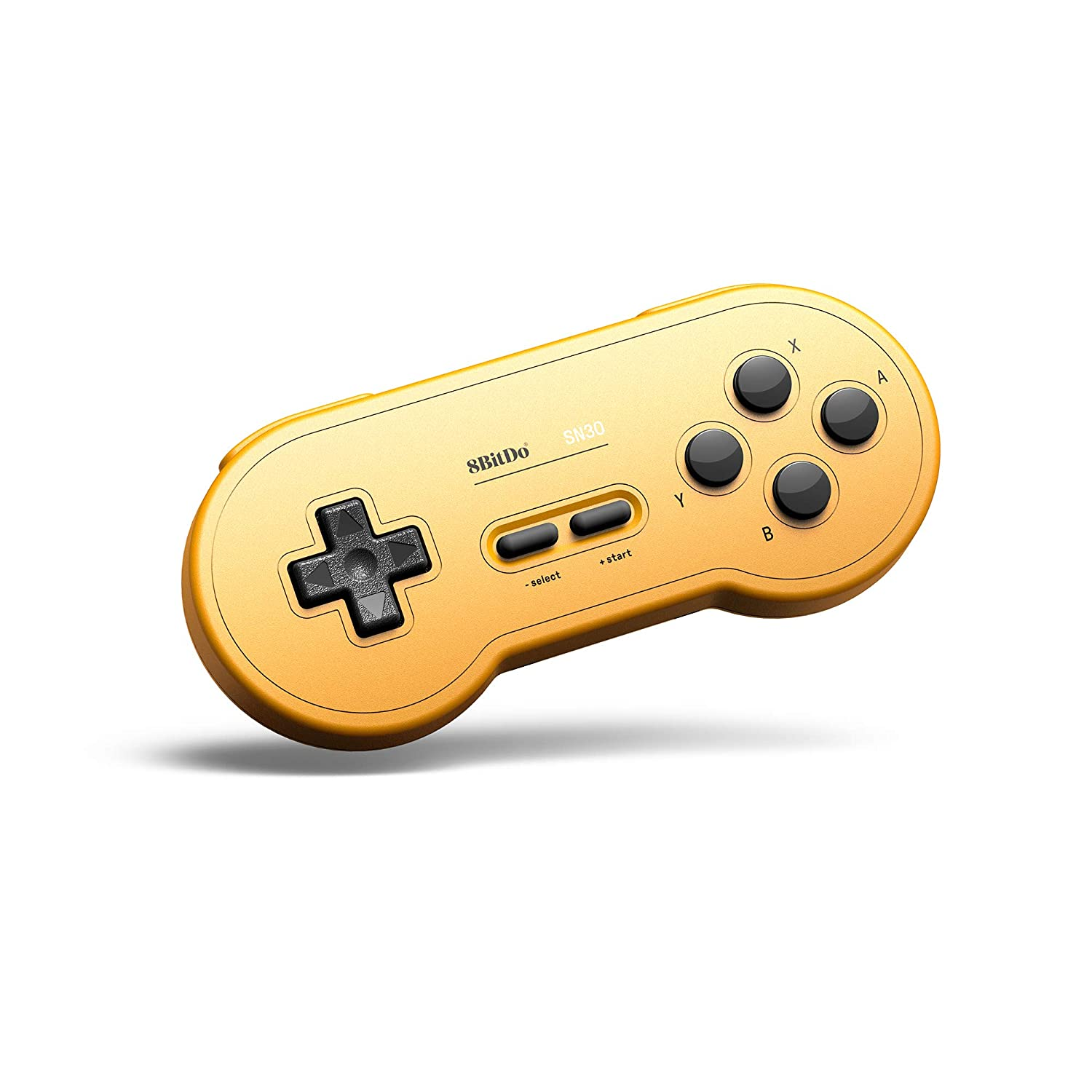 Controle SN30 8BitDo (Yellow) - Nintendo Switch - Pronta Entrega
