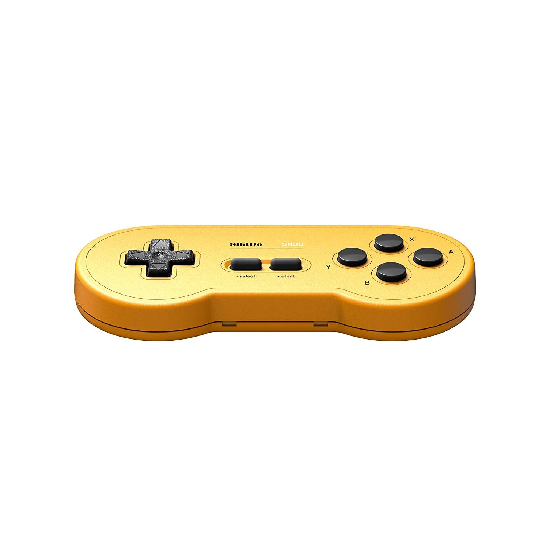 Controle SN30 8BitDo (Yellow) - Nintendo Switch - Pronta Entrega