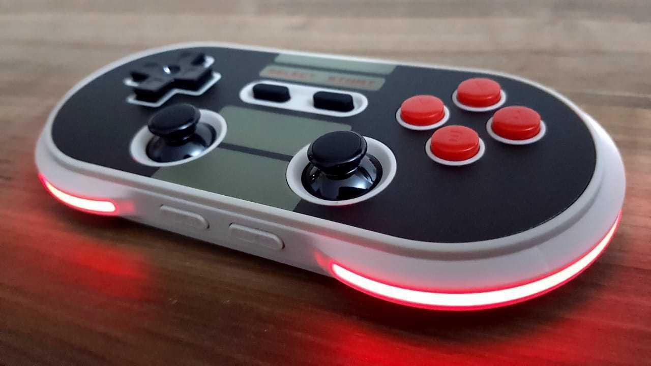 Controle N30 Pro 2 8BitDo - Nintendo Switch - Envio Internacional - Frete Grátis