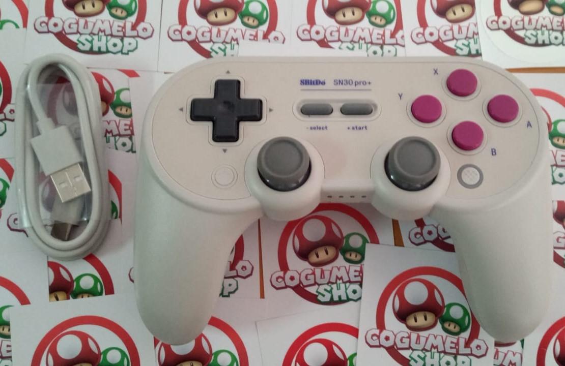 Controle SN30 Pro+ 8BitDo (Classic) - Nintendo Switch - Usado