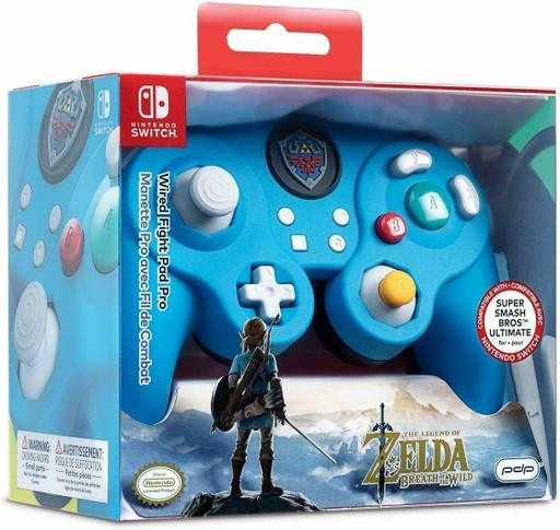 Controle Super Smash Bros Wired Fight Pad Pro Link Zelda (Envio Internacional) - Nintendo Switch