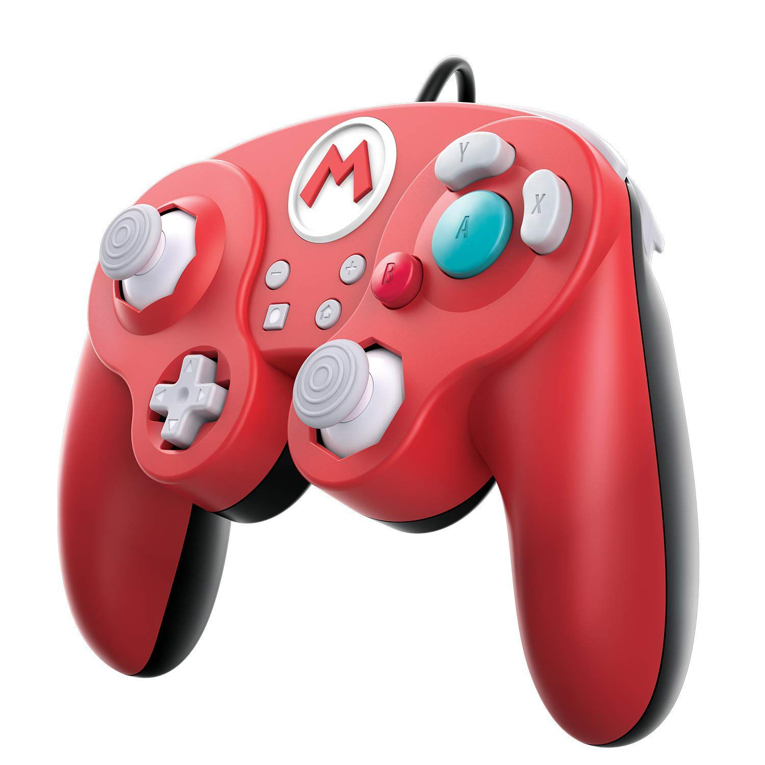 Controle Super Smash Bros Wired Fight Pad Pro Mario GameClube (Envio Internacional) - Nintendo Switch