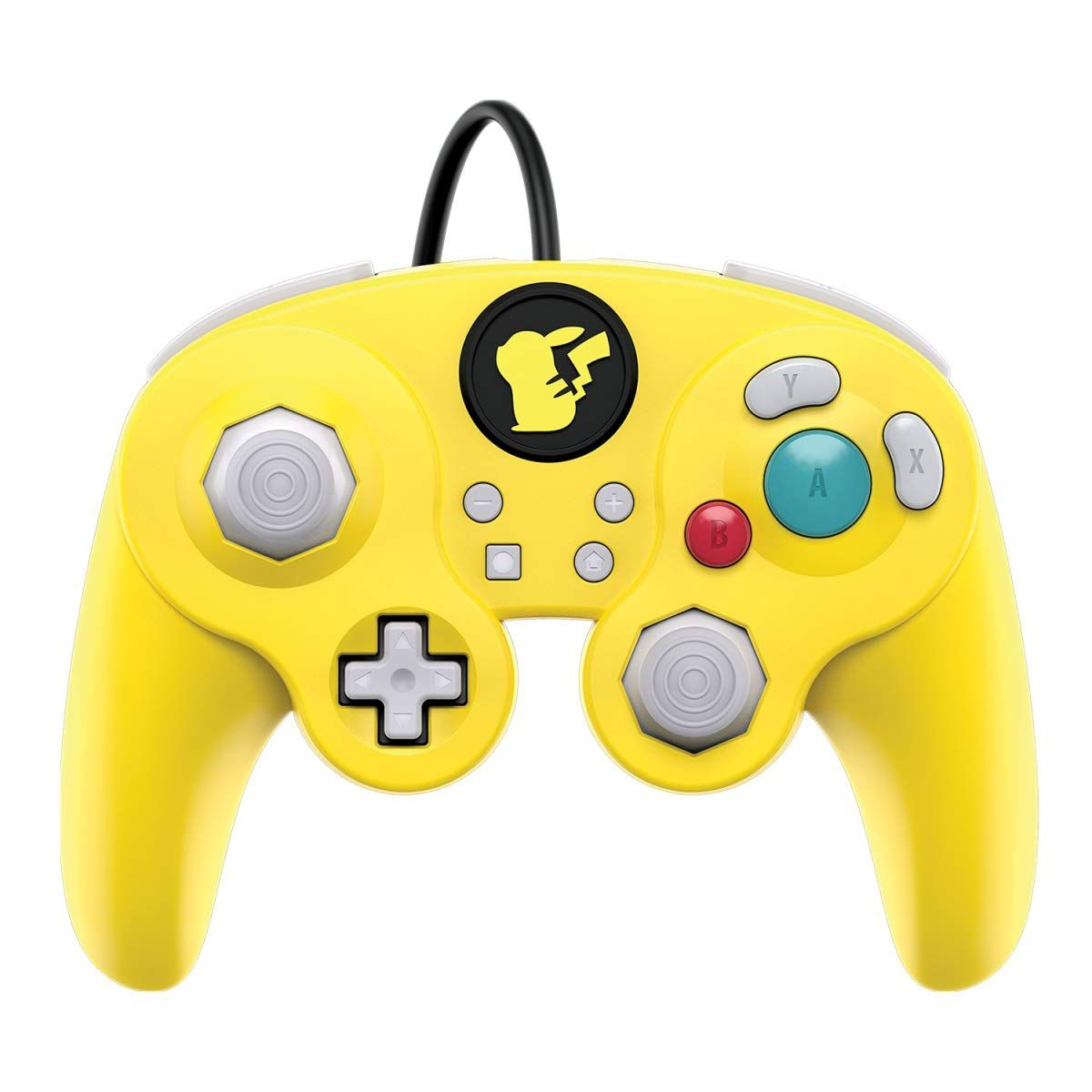 Controle Super Smash Bros Wired Fight Pad Pro Pikachu GameCube (Envio Internacional) - Nintendo Switch
