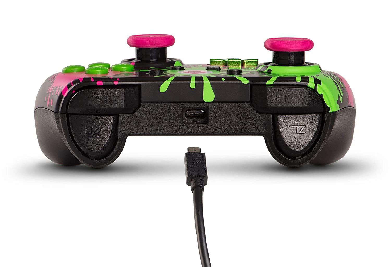 Controle Wired Controller - Splatoon 2 (Envio Internacional) - Nintendo Switch