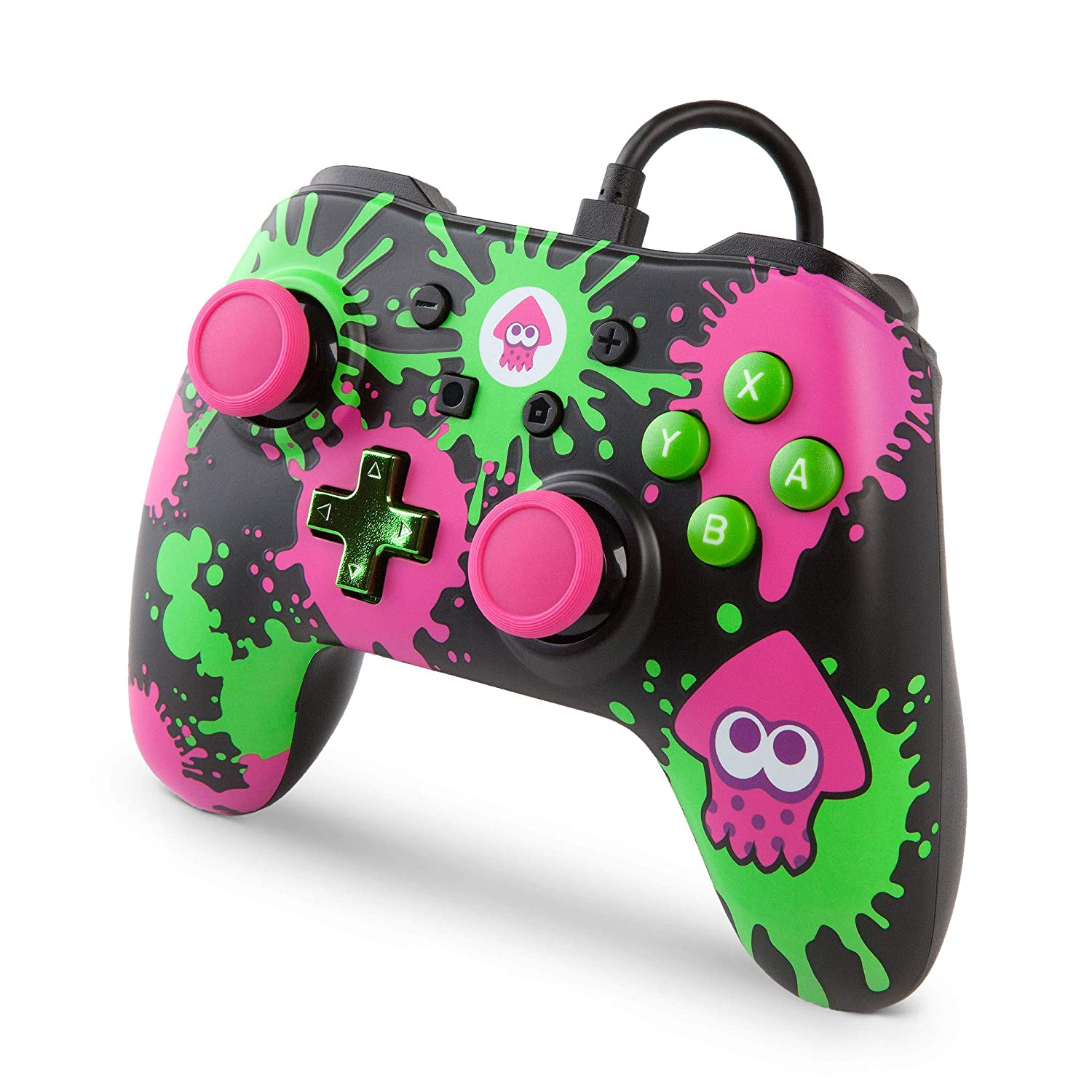 Controle Wired Controller - Splatoon 2 (Envio Internacional) - Nintendo Switch