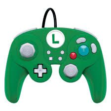 Controle Wired Fight Pad Pro Luigi PDP - Nintendo Switch
