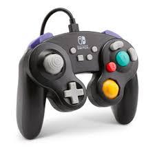 Controle Wired Game Cube Black PWA-A-01892 - Nintendo Switch