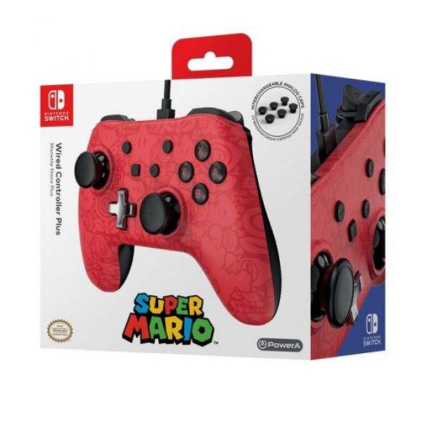 Controle Wired Powera Super Mario Edition - Nintendo Switch