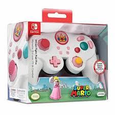 Controle Wired Princesa Pad Pro Pdp Branco/Rosa - Nintendo Switch