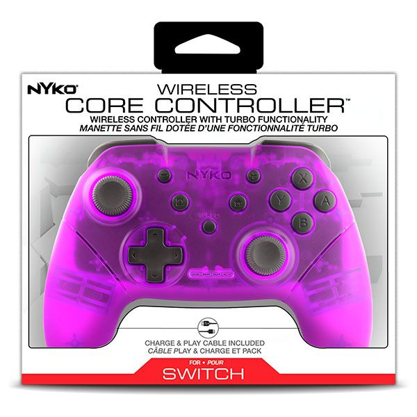 Controle Wireless Core Nyko Roxo - Nintendo Switch