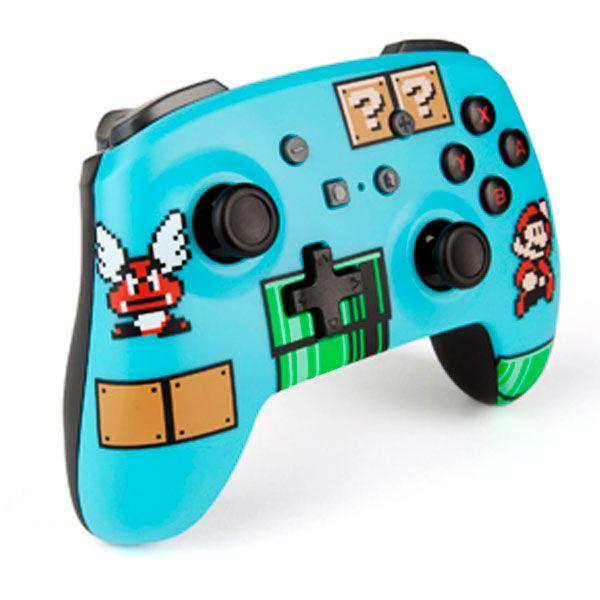 Controle Wirelles Enhanced Mario Bros 3 Powera - Nintendo Switch