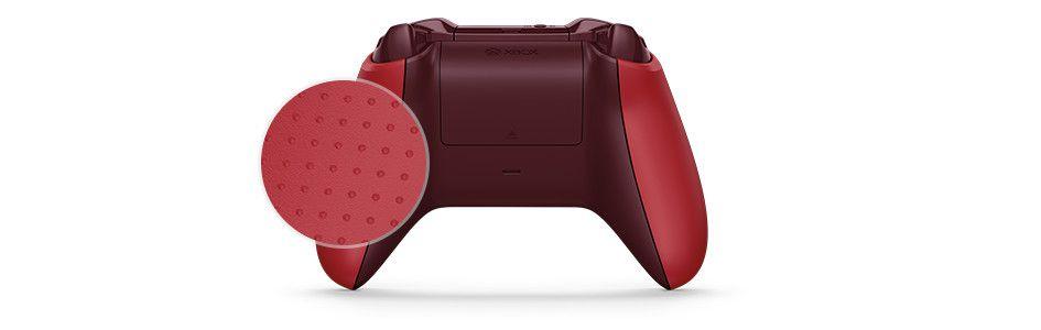 Controle Xbox One S Bluetooth Vermelho