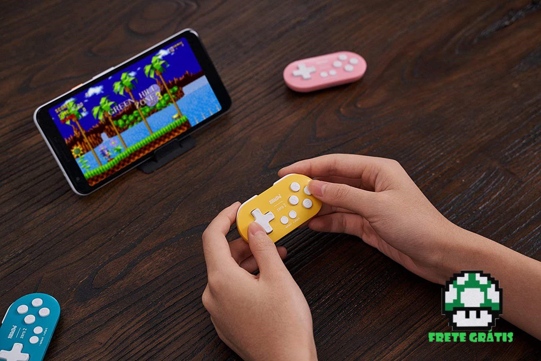 Controle Zero 2 8BitDo - Nintendo Switch - Envio Internacional - Frete Grátis