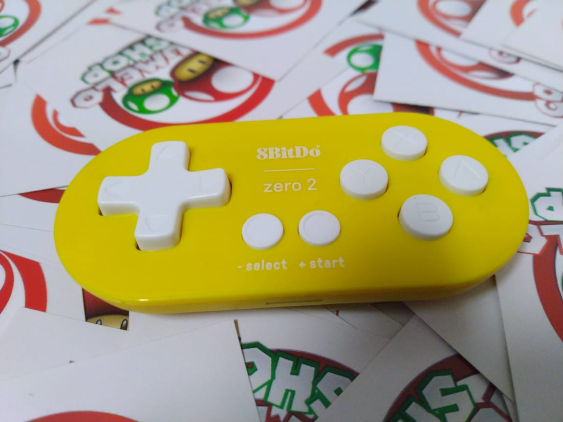 Controle Zero 2 8BitDo - Usado - Nintendo Switch