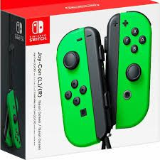 Controles Joy-Con L/R Neon Green - Nintendo Switch