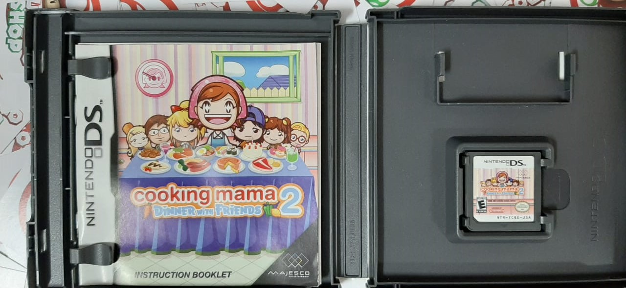 Cooking Mama 2: Dinner with Friends - USADO - Nintendo DS