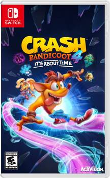 Crash Bandicoot 4: It's About Time - Nintendo Switch - Pré Venda