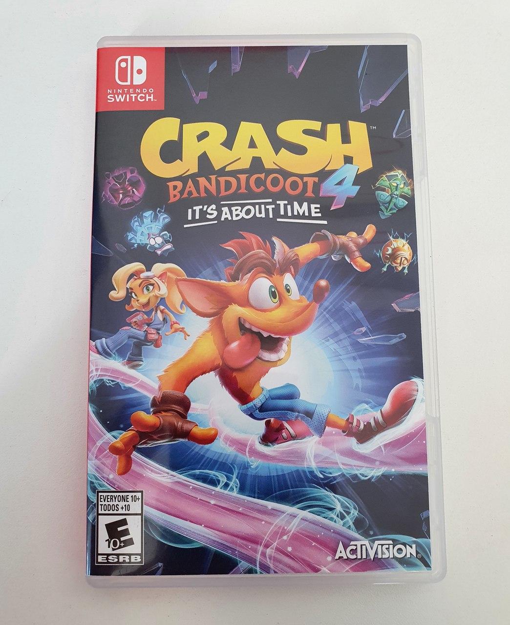 Crash Bandicoot 4: It's About Time - Nintendo Switch - Usado
