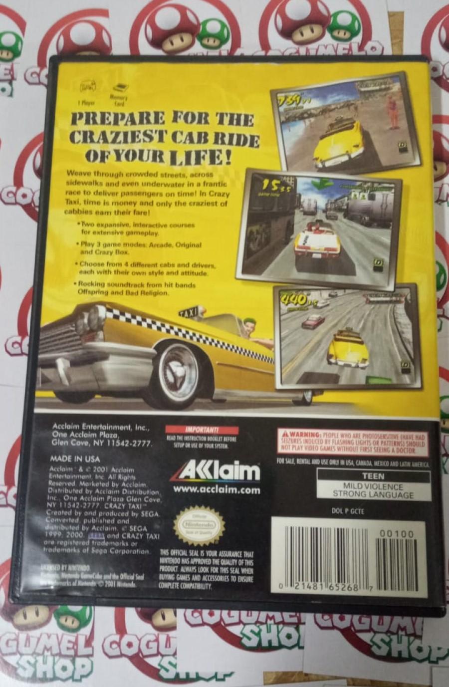 Crazy Taxi - USADO - Nintendo GameCube