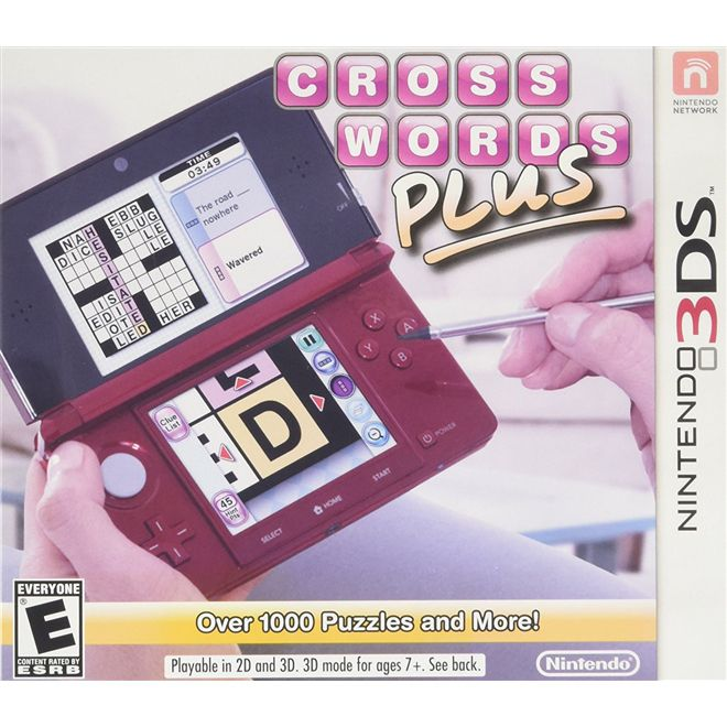 Crosswords Plus - 3Ds