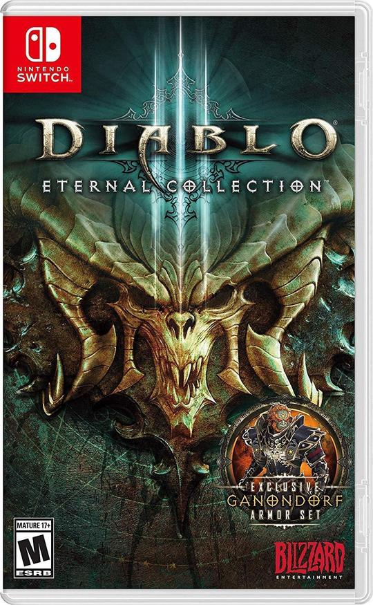 Diablo 3 Eternal Collection (US) - Nintendo Switch - Envio internacional