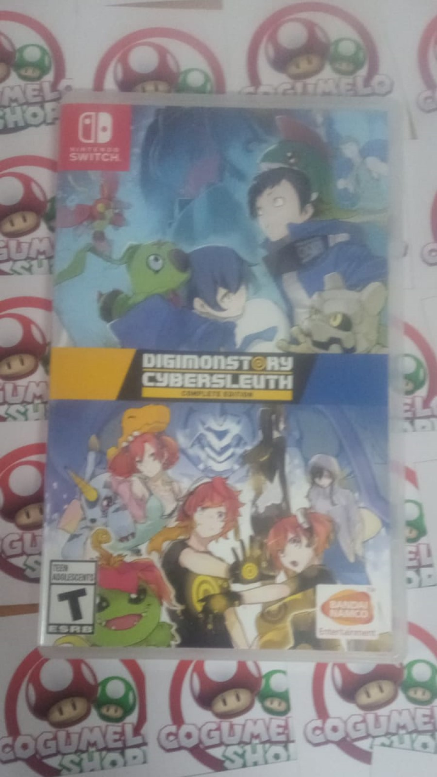 Digimon Story Cyber Sleuth: Complete Edition - USADO - Nintendo Switch
