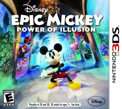 Disney Epic Mickey Power Of Illusion - USADO -  Nintendo 3DS