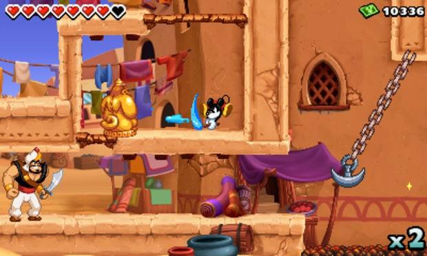 Disney Epic Mickey Power Of Illusion - USADO -  Nintendo 3DS