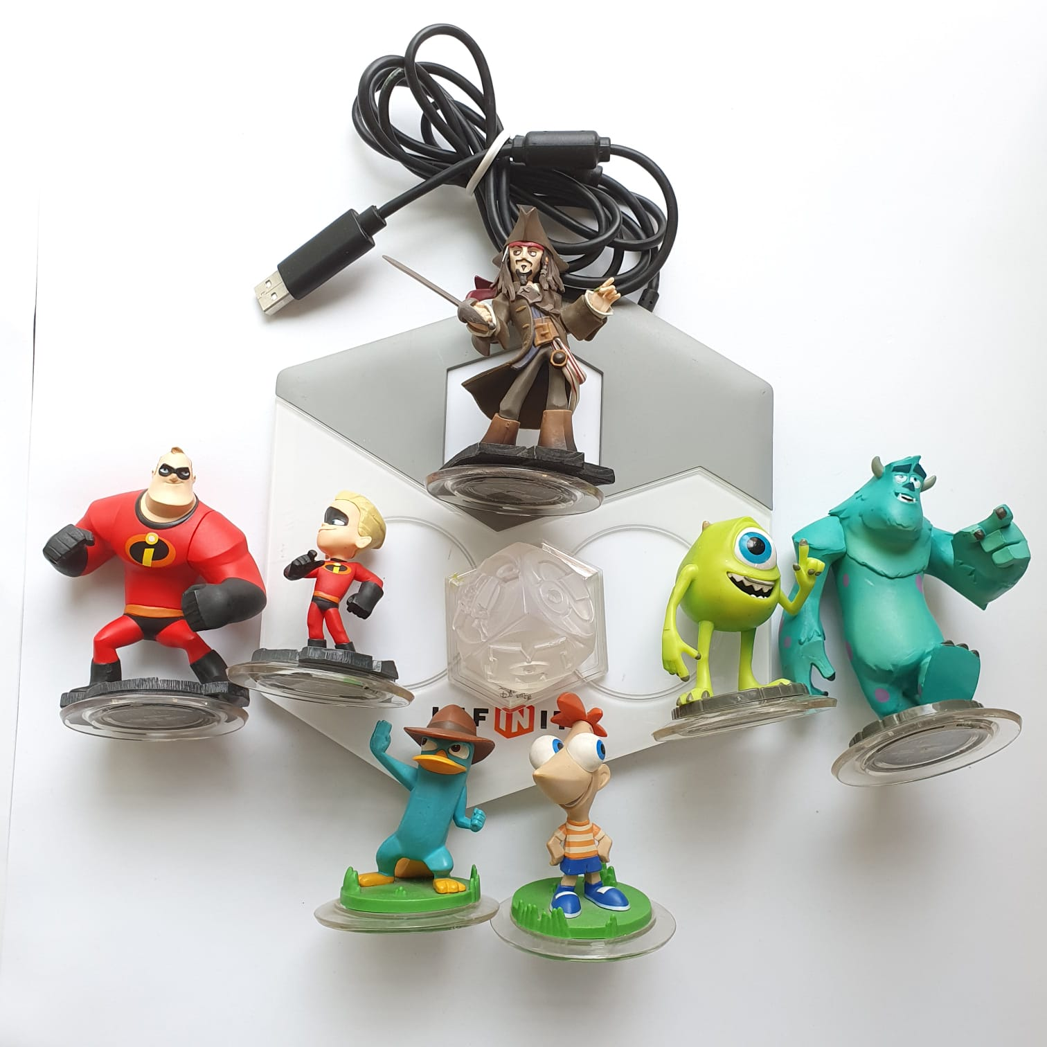 Disney Infinity + Starter Pack - Nintendo Wii - Usado