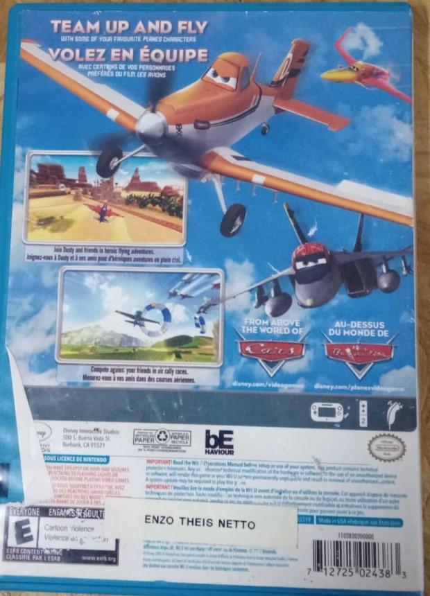 Disney Planes - USADO - Nintendo Wii U