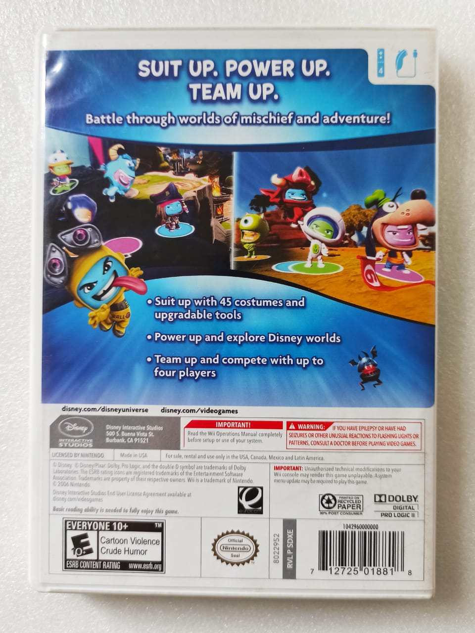 Disney: Universe - USADO - Nintendo Wii