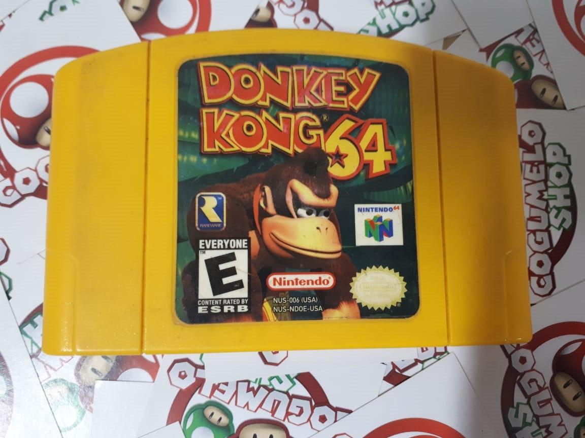 Donkey Kong 64 - USADO - Nintendo 64