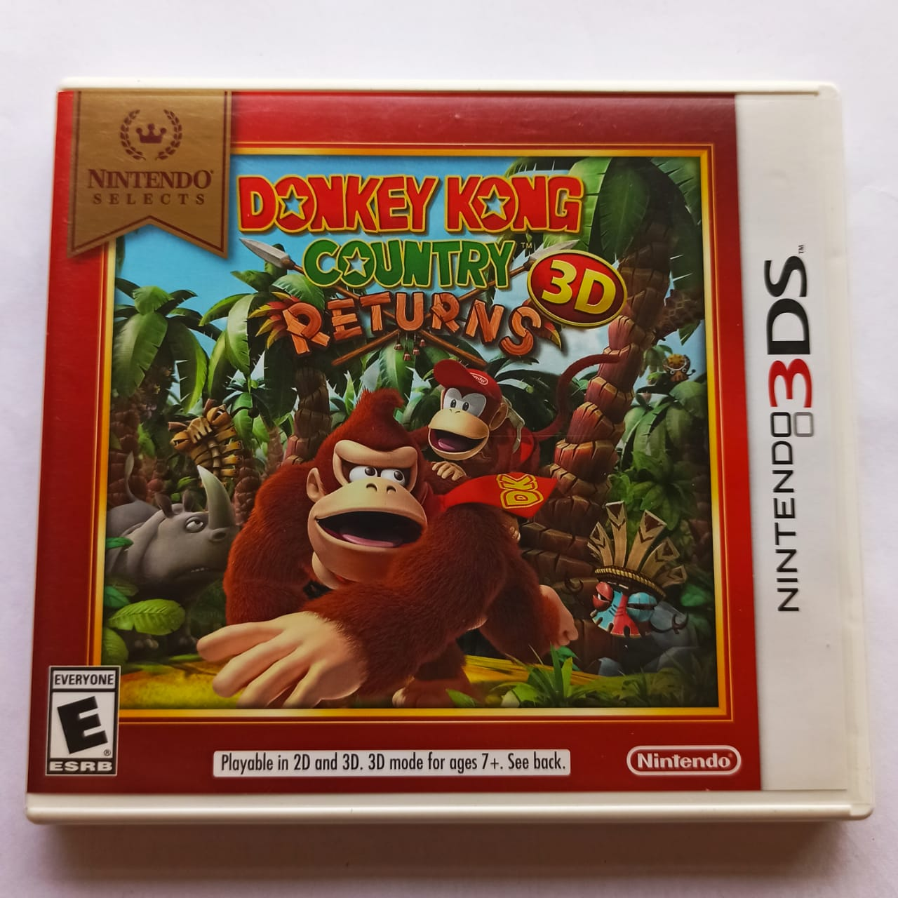 Donkey Kong Country Returns 3D - USADO - Nintendo 3DS