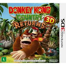 Donkey Kong Country Returns - Nintendo 3DS - USADO