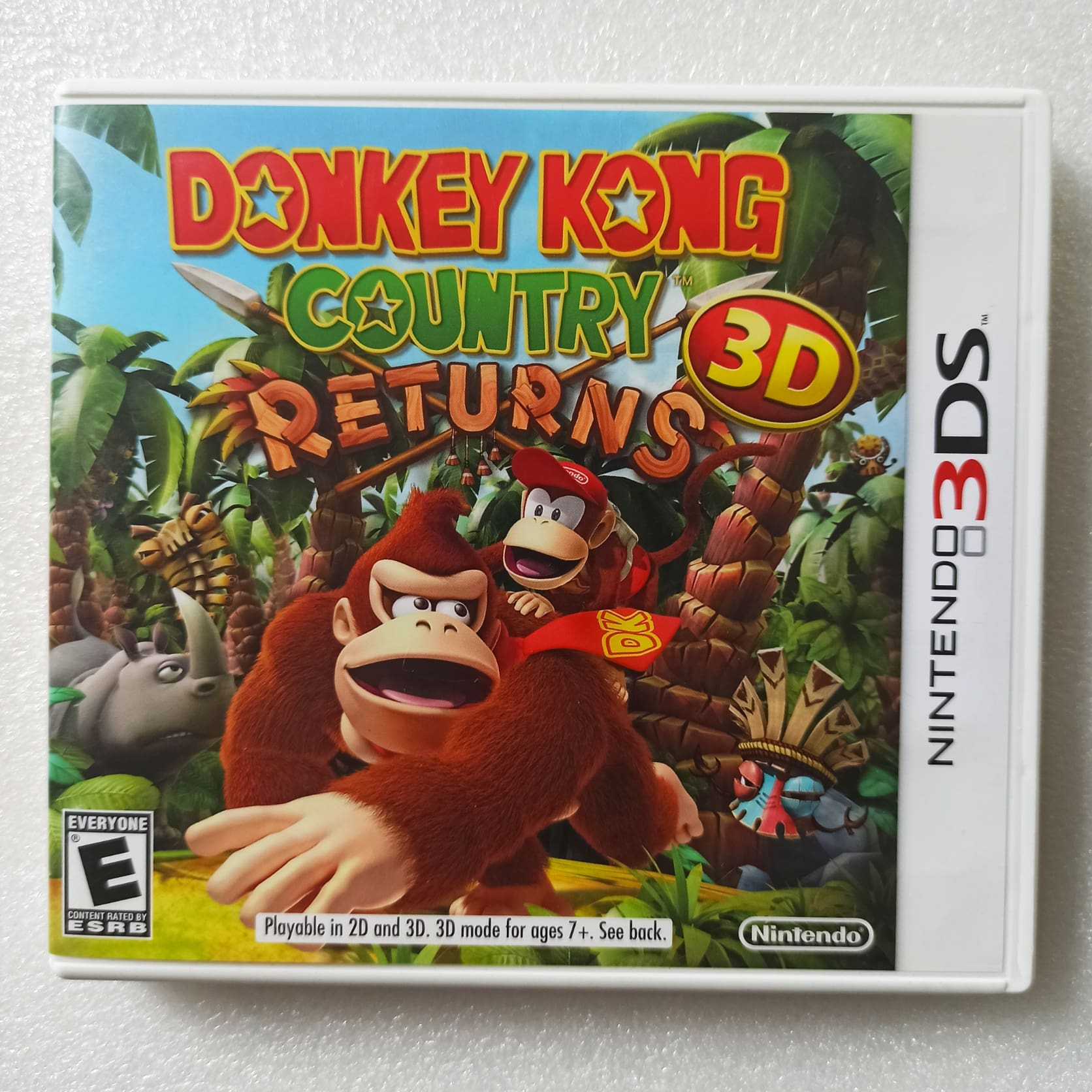 Donkey Kong: Country Returns - USADO - Nintendo 3DS