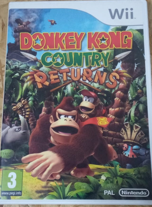 Donkey Kong Country Returns - USADO - Nintendo Wii