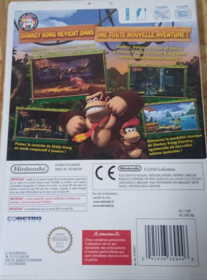 Donkey Kong Country Returns - USADO - Nintendo Wii